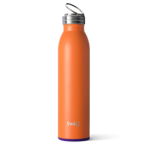Matte Navy/Orange 650ml Tumbler