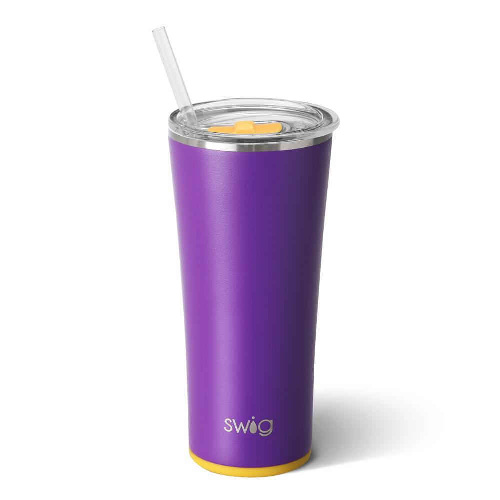 Matte Purple/Yellow 650ml Tumbler