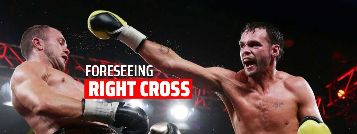 Foreseeing Right Cross in Boxing and MMA