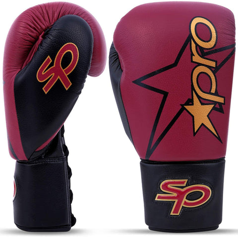Lace-Up Pro Boxing Glove