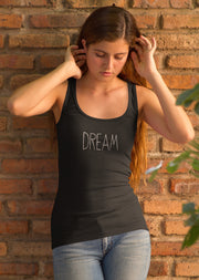DREAM (Girl's Racerback Tank)