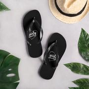 Girly Graphix - Black (Flip Flops)