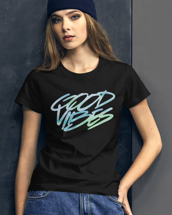 Good Vibes (Girl's T-Shirt)