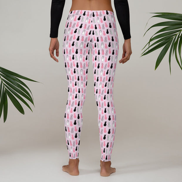 Funky Pineapples (Girl's Leggings)
