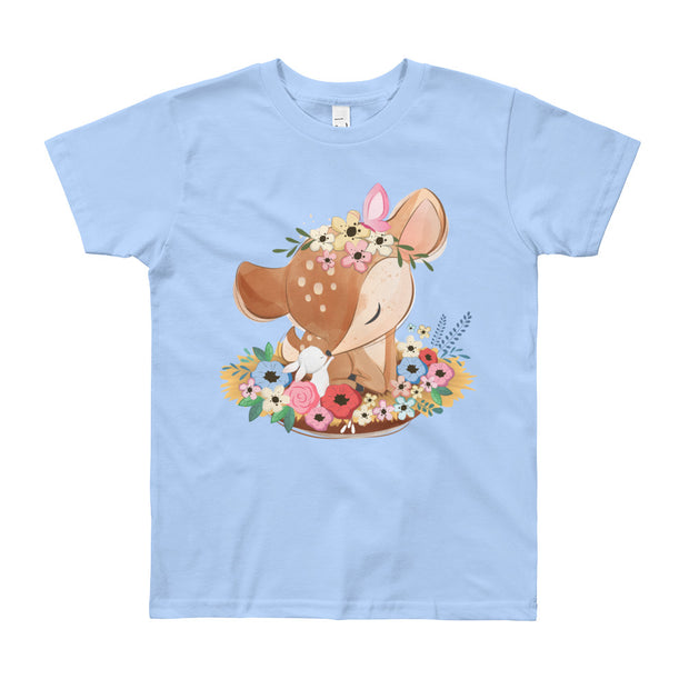 Deer & Bunny (Youth T-Shirt)