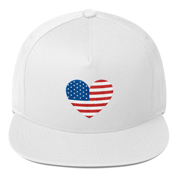 Heart Flag (Snapback Hat)