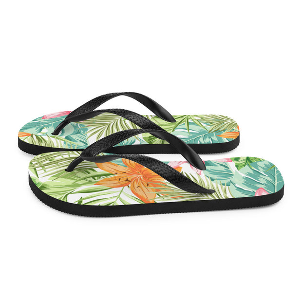 Watercolor Paradise (Flip Flops)