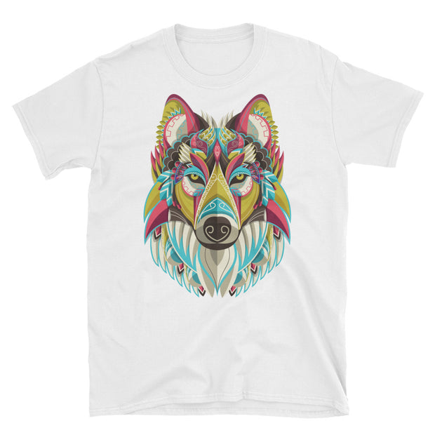 Native Wolf (Girl's T-Shirt)