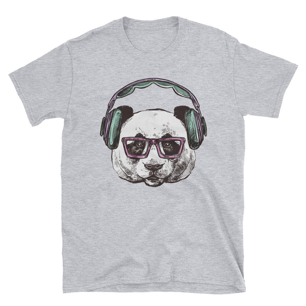 Panda Beats (Girl's T-Shirt)