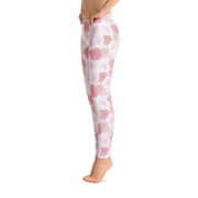 Vintage Rose (Girl's Leggings)