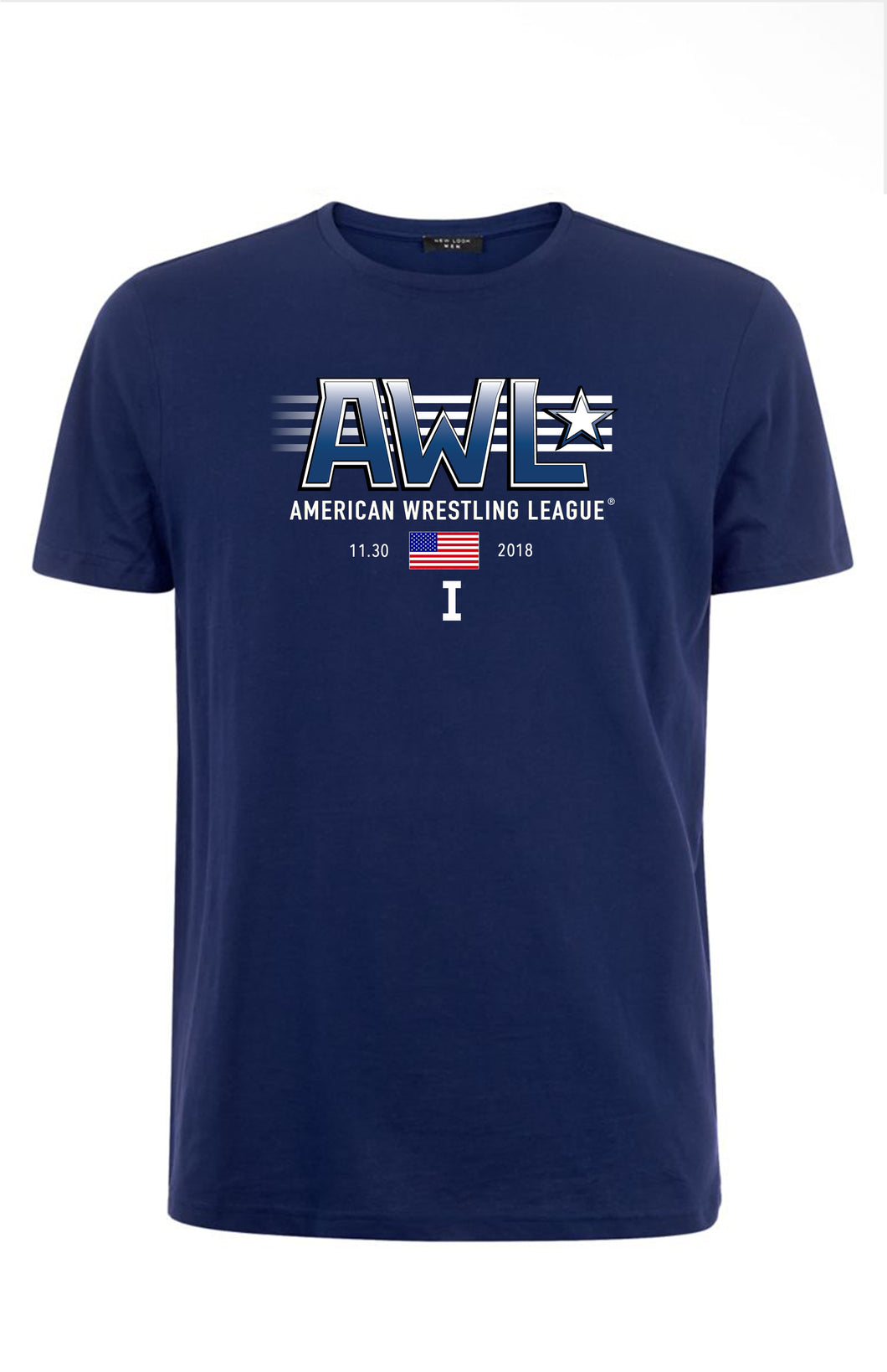 AWL I: THE BEGINNING blue event shirt