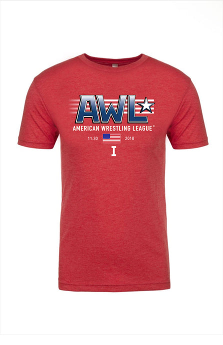 AWL I: THE BEGINNING red event shirt