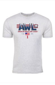 AWL I: THE BEGINNING white event shirt