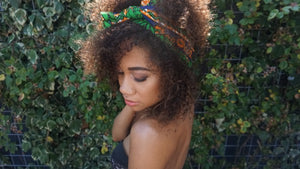 Headwrap Green Grass