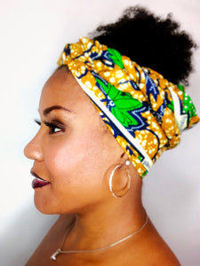 Headwrap Green Grapes