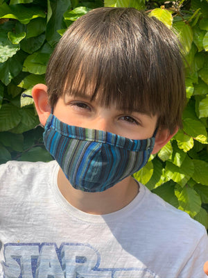 Face Masks Denim, Solids, Colorful Stripes and Patterns
