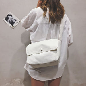 Canvas Korean Book Bag