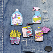 Load image into Gallery viewer, Blue&Pink Series Pins - 5 Pcs