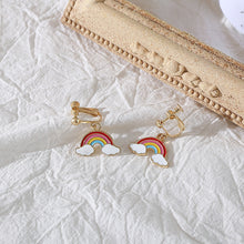 Load image into Gallery viewer, Cute Rainbow earrings