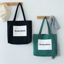 Load image into Gallery viewer, You are special Canvas Tote Bag - 3 Colors