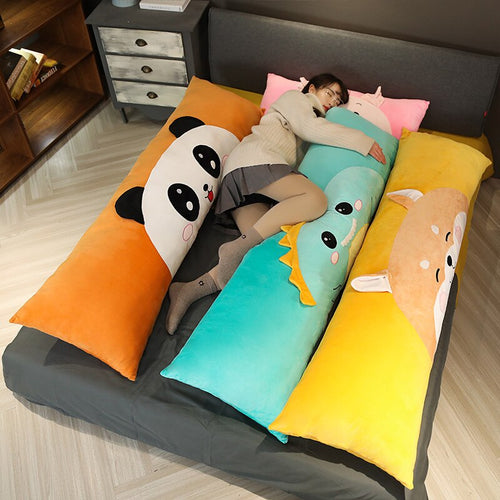 Cartoon Animals Sleeping Bolster