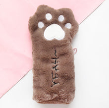 Load image into Gallery viewer, Kawaii Fluffy Cat Paw Pencil Case
