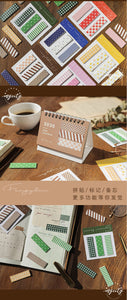 Stone Paper Sticky Notes—3/6 Pcs