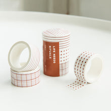 Load image into Gallery viewer, Basic Shape and Time Ruler Planner Tape - 3 Pcs
