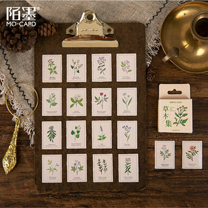 Vegetable Collection Stickers - 46 Pcs