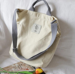 Pastel Aesthetic Canvas Bag  Lily Bag