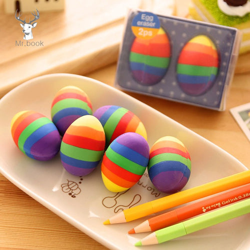 Rainbow Eggs Easter - 2 Pcs