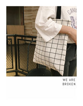 Load image into Gallery viewer, Simply Canvas+Cotton Double-side Shoulder Bag - 3 Colors