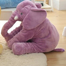 Load image into Gallery viewer, Sleeping Back Elephant Plush - 40/60cm