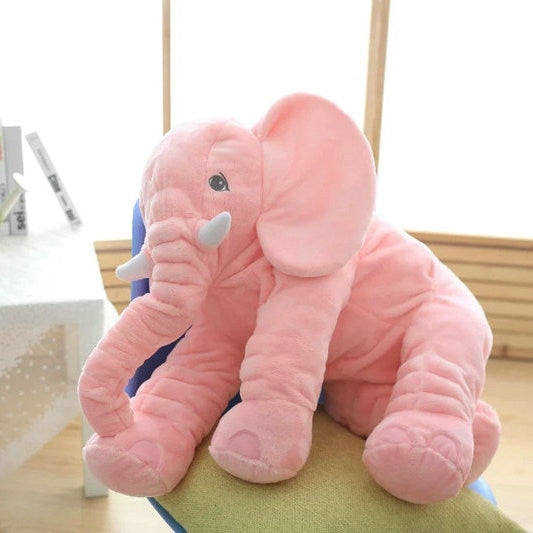 Sleeping Back Elephant Plush - 40/60cm