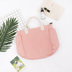 Cute Canvas Shoulder Bag