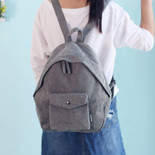 Load image into Gallery viewer, Cleo Soft Cord backpack - 4 Color