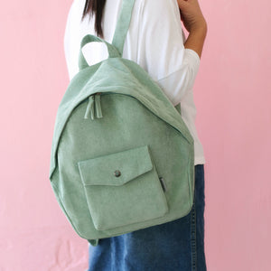 Cleo Soft Cord backpack - 4 Color