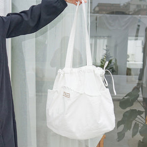 Oversize Molly Drawsting Tote Bag