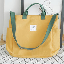 Load image into Gallery viewer, Canvas Korean Tote Bag