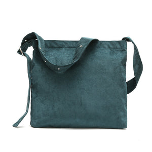 Cord Shoulder Tote Bag - 6 Color