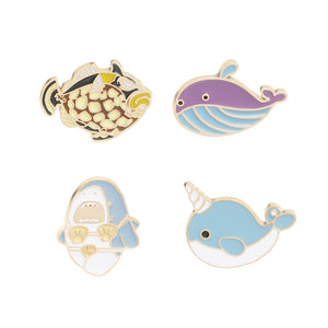 Fish Pins - 4 Pcs