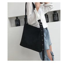 Load image into Gallery viewer, Cord Shoulder Tote Bag - 6 Color