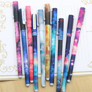 Galaxy Color Gel Pen-10 Pcs