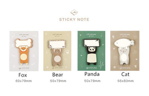Raise a Paw Sticky Notes - 4pcs