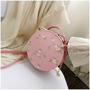 Cute Round Lace Bag