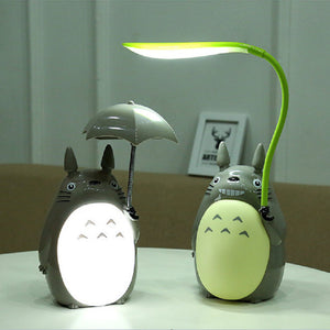 Kawaii Cartoon Totoro Night Lamp