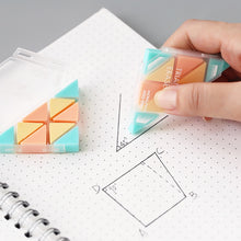 Load image into Gallery viewer, Creative Triangle Rubber Eraser