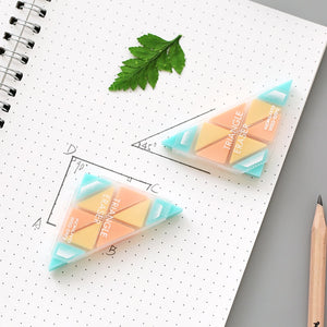 Creative Triangle Rubber Eraser