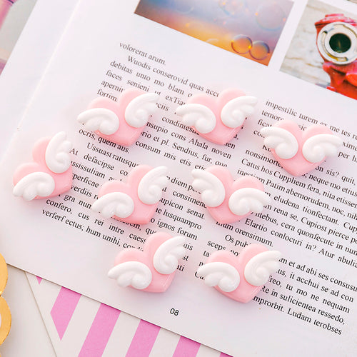 Cute Pink Heart Clip-5 Pcs