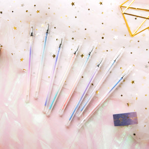0.5mm Metallic Glitter Gel Pen-8 Color
